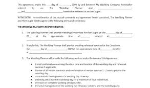 wedding planner prices planner contract template resume template paasprovider