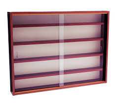 Mahogany Display Cabinets With Glass Doors by Buy 2 Door Glass Wall Display Cabinet Mahogany At Argos Co Uk