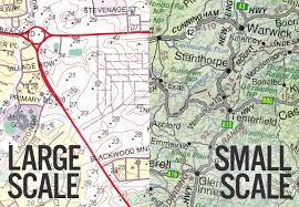 map scales large scale vs small scale maps what the chart map shop