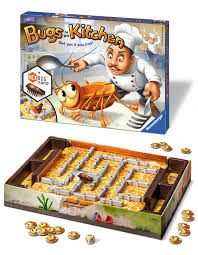 amazon com bugs in the kitchen children u0027s board game toys u0026 games