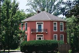 octagonal houses file octagon house lutherville jpg wikimedia commons