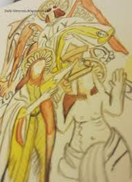 dolly glencross medieval wall murals medieval wall murals i visited the piccotts end medieval wall murals