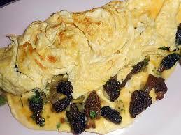 cuisiner les morilles fraiches recette d omelette aux morilles