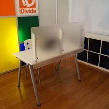 peachy design ideas desk dividers lovely desk divider 47 wide x 23 high desktop privacy screen