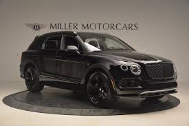 bentley suv matte black 2018 bentley bentayga black edition stock b1263 for sale near