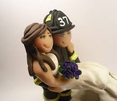 firefighter cake toppers firefighter wedding cake toppers idea in 2017 wedding