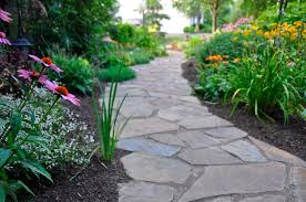 Flagstone Walkway Design Ideas by Landscape Pathways Home Design