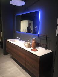 backlit mirrors u2013 the focal points of the modern bathrooms the m
