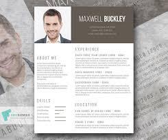 the headline u2013 a modern and unique resume template freebie