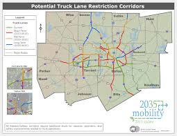 Map Of Dallas Tx Area by Trucks Nctcog Org