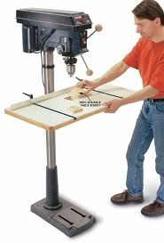 Drill Press Table Spacious Drill Press Table Popular Woodworking Magazine