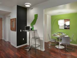 Wall Art For Dining Room Contemporary by Green Accent Wall Dining Room Contemporary With California Wall