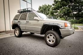 rugged ridge 11635 10 6 piece fender flare kit 93 98 jeep