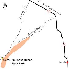 Cedar City Utah Map by Publications Utah State Parks