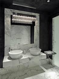 black and white marble tile bathroom city gate beach road