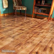 how to install luxury vinyl flooring family handyman