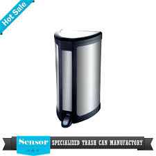 airtight kitchen trash can stainless steel automatic sensor
