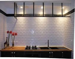 metro cuisine carrelage metro noir mat affordable carrelage metro noir mat cette
