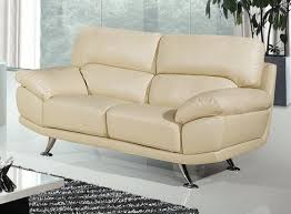 Bali  Seater Cream Leather Sofa Leather Sofa Land - Cream leather sofas