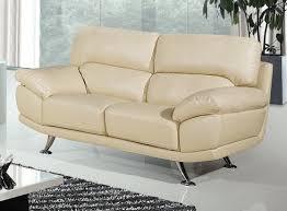 Bali  Seater Cream Leather Sofa Leather Sofa Land - Cream leather sofas