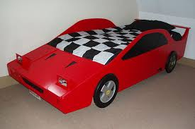 Ferrari Bed Sports Car Theme Bed Quality Novelty Boys Bed In Ferrari Red