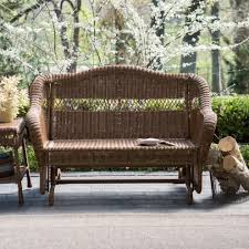 Patio Glider Bench Wooden Patio Glider U2014 Outdoor Chair Furniture Beauty And Comfort