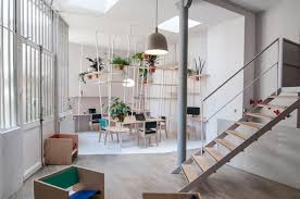 bureau en open space de bureaux en open space