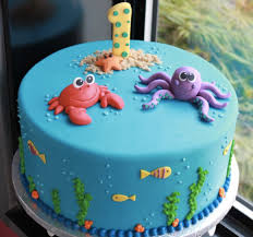 first birthday cakes beautiful baby birthday cake ideas sea