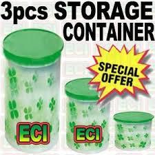 buy set of 3 kitchen storage containers jars online best prices