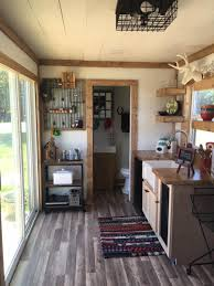 a 20 u2032 150 square feet converted shipping container home in