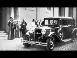 Popular Ford Models 1930 Mercedes Benz Nurburg 460 Popemobile Pope Pius Xi Classic