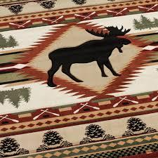 Rustic Hearth Rugs Floor Rustic Rugs Nature Themed Rugs Elk Rugs