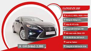 lexus es vietnam giá xe lexus chính hãng tại thị trường việt nam tháng 6 2016