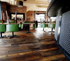 take a look at reclaimed wood floor ideas