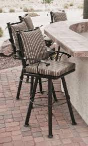 Outdoor Swivel Bar Stool Luxury Patio Outdoor Furniture