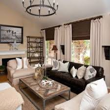 Leather Living Room Decorating Ideas by Wonderful Classic Style Dark Brown Leather Living Room Sectional