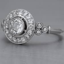 art deco engagement rings the wedding specialiststhe wedding