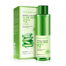 Toner Acne bioaqua 2017 new aloe vera moisturizing toner hyaluronic acid skin