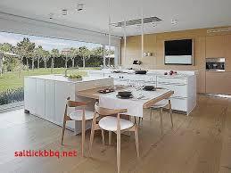 table coulissante cuisine ilot avec table coulissante pour idees de deco de cuisine élégant