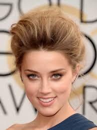 smokey eye to get a look like the beautiful amber heard s above use colors such as bronze deep bronze and brown