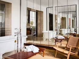 Small Bathroom Ideas With Stand Up Shower - blue and beige bathroom ideas large shower with glass door and