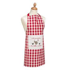 tabliers blouse et torchons de cuisine tablier de cuisine les belles cocottes les ateliers du linge 80x85