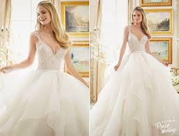 jeweled wedding dresses this stylish wedding dress from mori featuring