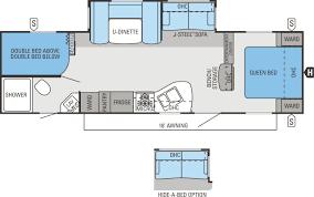 jay flight travel trailers floor plans jayco jay flight 28bhbe trailer w glass sides 0660099 tcrv