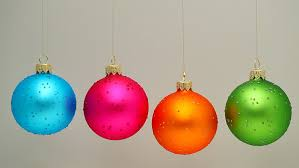 three ornaments loop with alpha matte stock footage