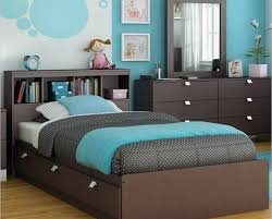 Modern Blue Bedrooms - teal and chocolate bedroom fabulous dark teal and brown living