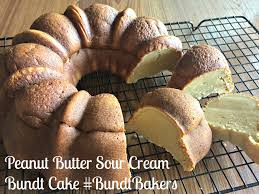 peanut butter sour cream bundt cake bundtbakers basic n delicious