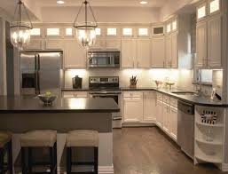 Kitchen Hanging Cabinet Modest Home Kitchen In Apartment Design Ideas Display