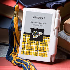 unique graduation favors personalized graduation notebook favor