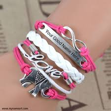 bracelet name images Write your name on bracelet wishes greeting card jpg